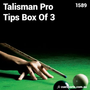 Talisman Pro Tips Box Of 3