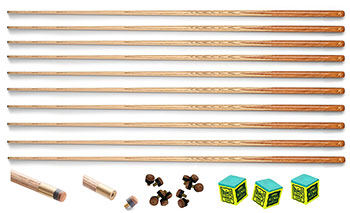10  Peradon Cannon Rack Cues Thumb