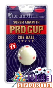Aramith Pro Cup Spotted Pool Cue Ball Austrailia