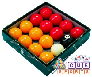 Aramith Super Red and Yellow Casino Pool Balls Australia